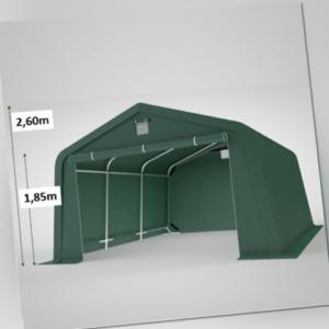 ca. 3x5m Weidezelt Unterstand Zeltgarage Lagerzelt Rundbogenhalle Rundbogenzelt