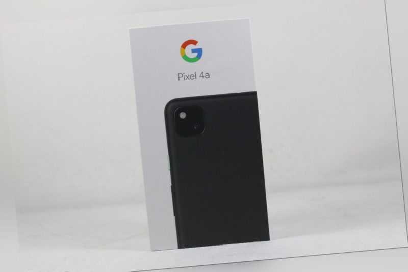 Google Pixel 4a 128GB Schwarz Neuware