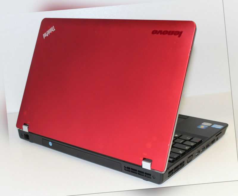"Laptop Lenovo ThinkPad 15,6"" Core i3 8GB RAM 256GB SSD rot"