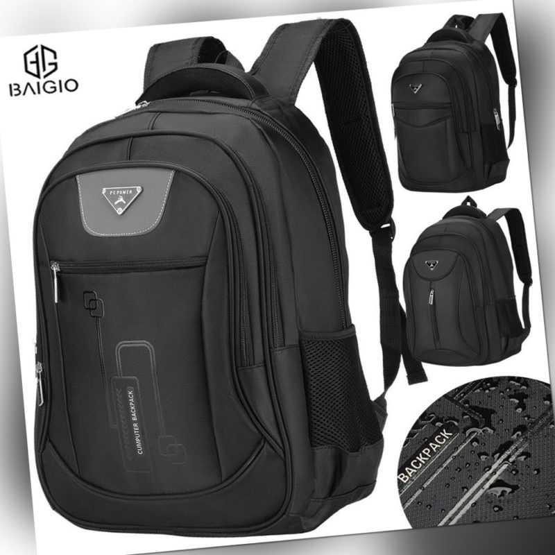 BAIGIO Laptop Rucksack Herren Damen Sport Reise Wandern Schultasche Backpack DHL