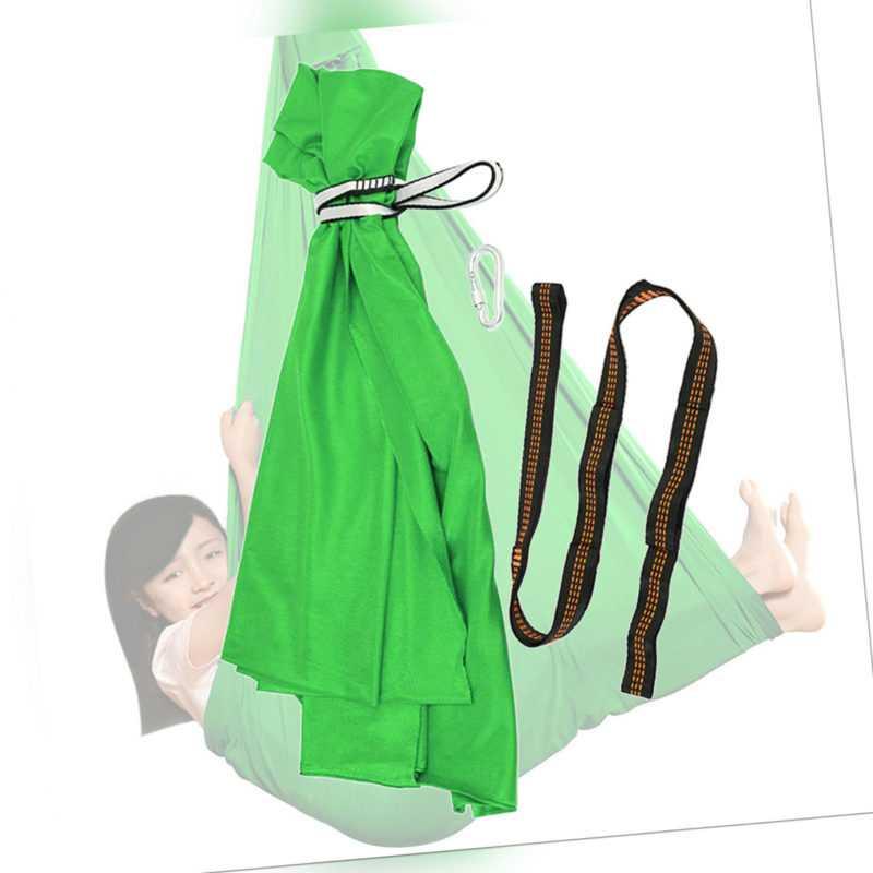 Kinderschaukel Hängematte Hängende Kapsel Sensory Swing Karabiner Grün