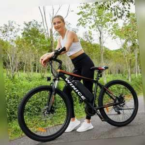 Elektrofahrrad Mountainbike E-bike 26 Zoll Fahrrad 350W Pedelec Shimano 21-Gäng.