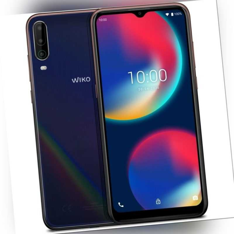 Wiko View4 Smartphone 64GB 3GB RAM cosmic blue Android LTE/4G...