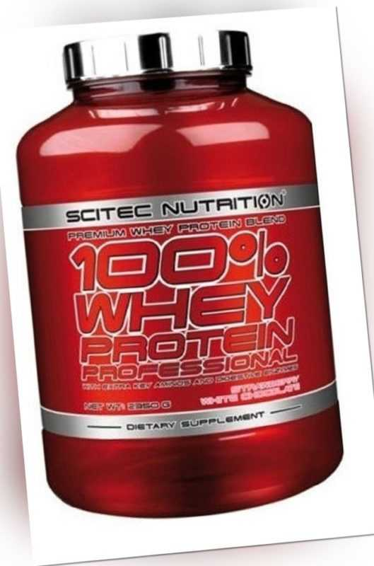 (18,26€/Kg) SCITEC NUTRITION 100% WHEY PROTEIN PROFESSIONAL- 2350g