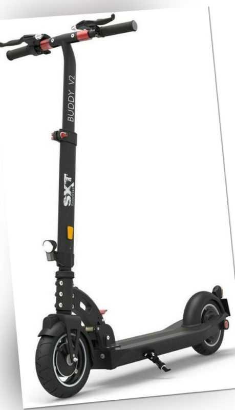 SXT Scooters Buddy V2-E E-Scooter schwarz 10,4Ah Akku  - Zustand sehr gut