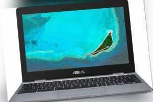 ASUS Chromebook 11,6 Zoll 32GB eMMC 4 GB RAM Celeron N grau C223NA-GJ0068 B-WARE
