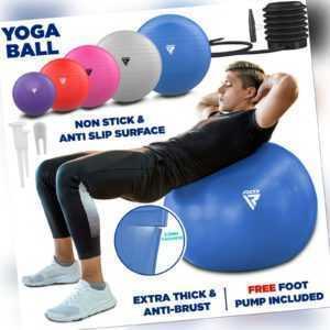 RDX Gymnastikball Sitzball Yoga Pezziball Schwangerschaft Balance Ball Luftpumpe