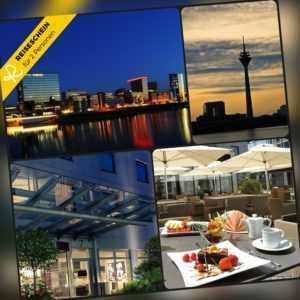 5 Tage 2P Düsseldorf 4★ Secret Hotel Kurzurlaub Wochenende Urlaub Städtereise