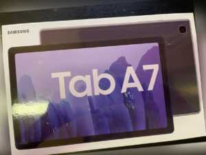"""SAMSUNG TAB A7 Wi-Fi Tablet 32GB 3GB RAM 10.4"""" Android 10.0 Dark Grey NEU OVP"""