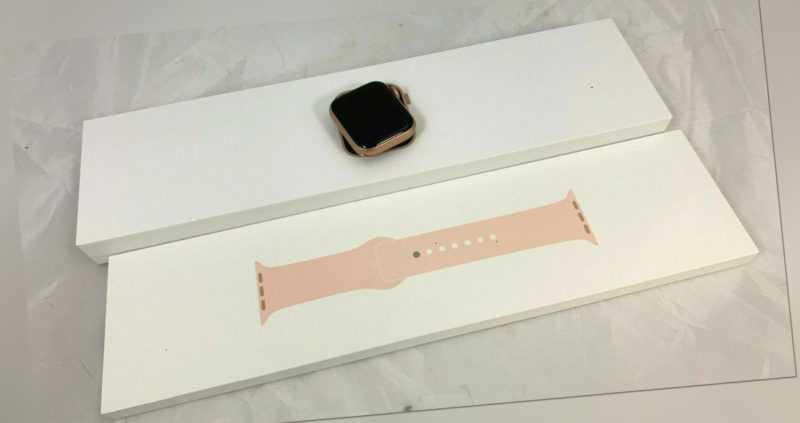Apple Watch Series 6 40mm Gold Aluminium Sport Band A2291 C40 1091 I4
