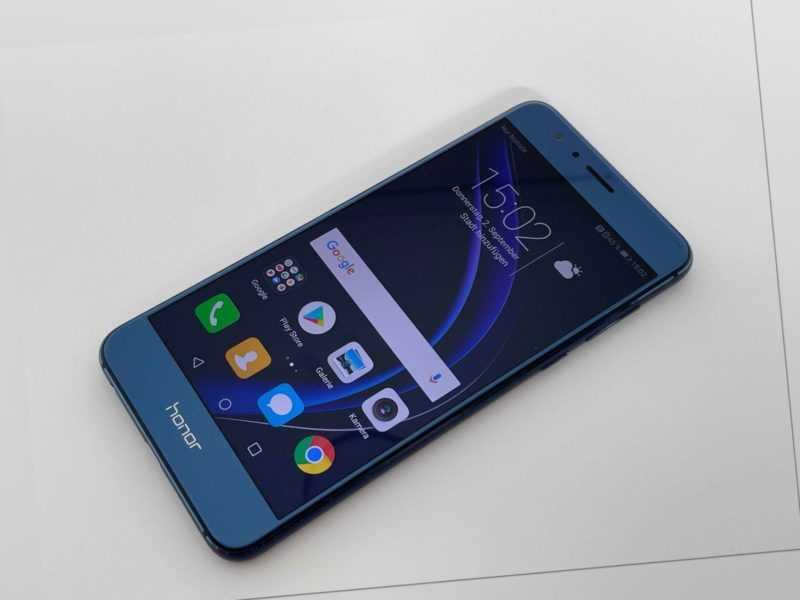 🔥 Huawei Honor 8 Blau DUAL SIM 12 Mon Gewährleistung Fachhändler FRD-L19 ✅