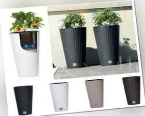 AUSVERKAUF! Rato TUBUS Blumenkasten+Einsatz  Blumentopf Bewässerungssystem