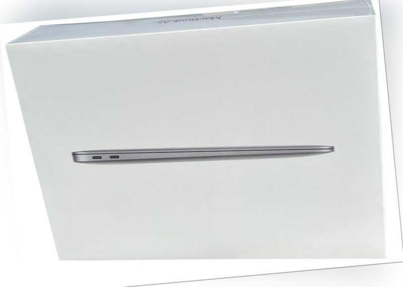 "Apple® MacBook Air MWTJ2D/A i3-1.1 8GB 13.3"" 256GB space grau 2020 NEU+OVP MwSt."