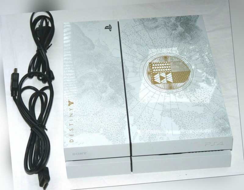 PLAYSTATION 4 KONSOLE 500GB DESTINY TAKEN KING EDITION WEISS PS4 white 500 GB