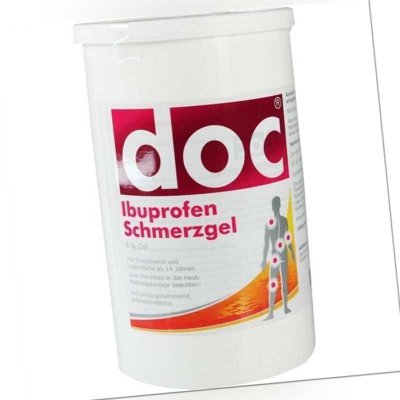 DOC IBUPROFEN Schmerzgel   Spenderkartusche 1 kg   PZN9440203