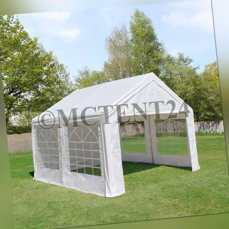 Pavillon Partyzelt 3x4m 4x3m stabiler Marktstand Sonnenschutz *Stahlgestell* NEU