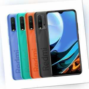 "Xiaomi Redmi 9T 4GB 128GB Handy 6,53"" FHD+ Dual SIM 6000mAh 48MP..."