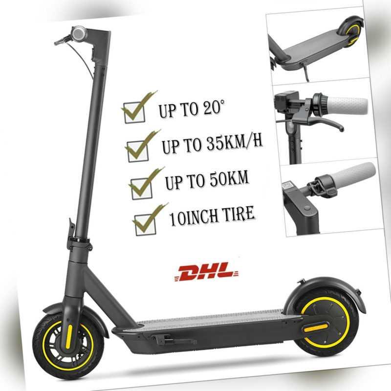 10Zoll E-Scooter Elektro Scooter 35km/h 720W 15.2Ah Elektroroller Faltbar W/App