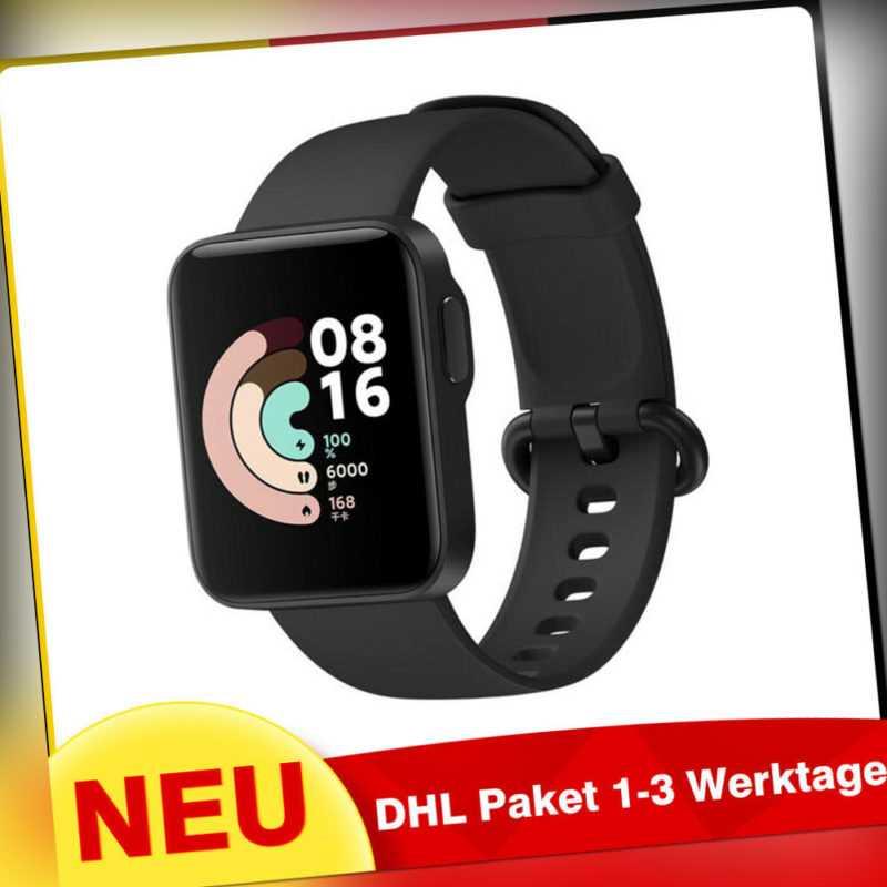 Xiaomi Mi Watch Lite Smartwatch Bluetooth Wasserdicht Sport Modes Android IOS