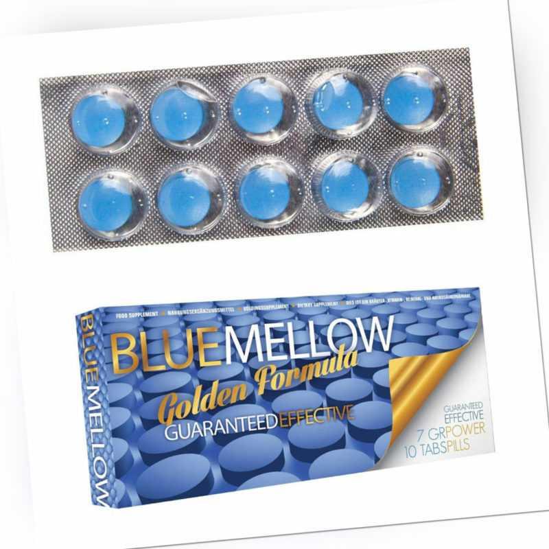 """10x Blaue Pillen für Männer HOCHDOSIERT 🔥 Libido Testo 🔥 """"P46"""