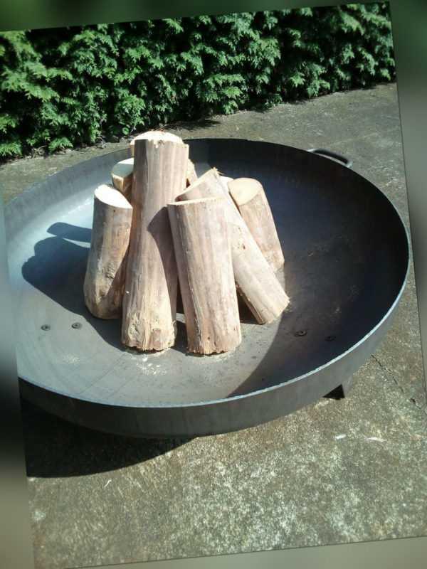 Feuerschale Feuerstelle Feuerkorb Lagerfeuer 2,75mmCortenstahl Ø80cmPflanzschale