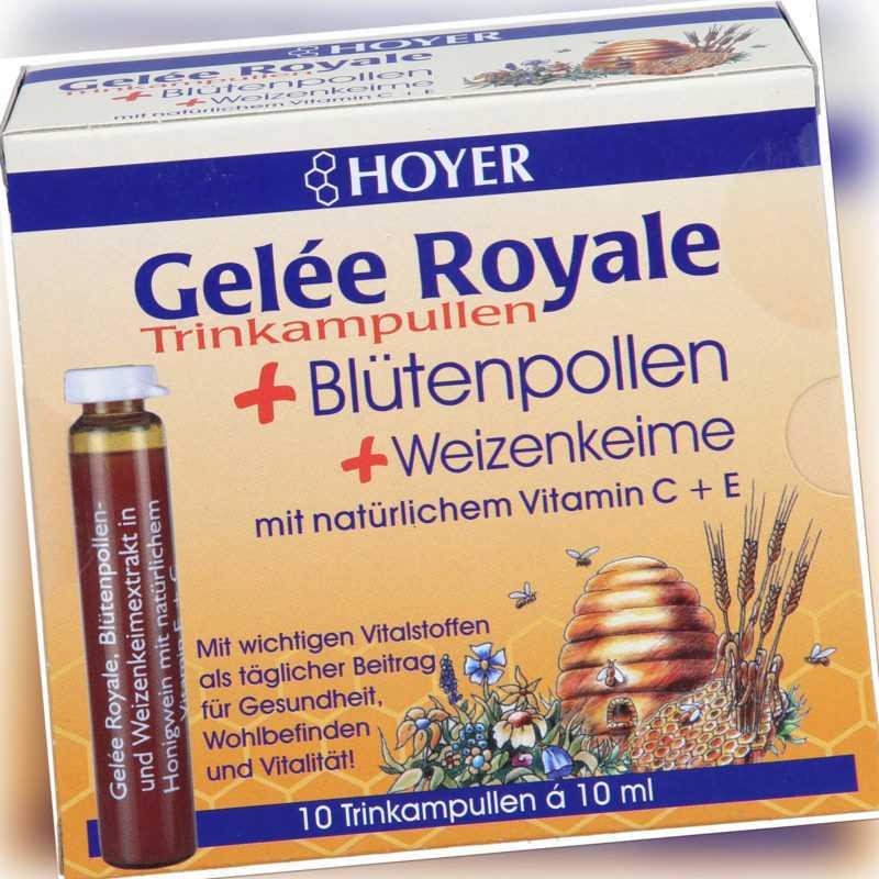 HOYER Gelée Royale Trinkampullen, 10 St. Ampullen 2002753
