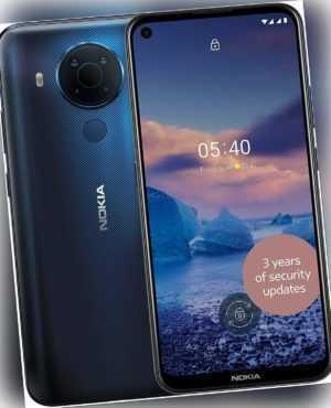 Nokia 5.4 Smartphone Dual SIM 64GB + 4GB RAM - Polar Blue