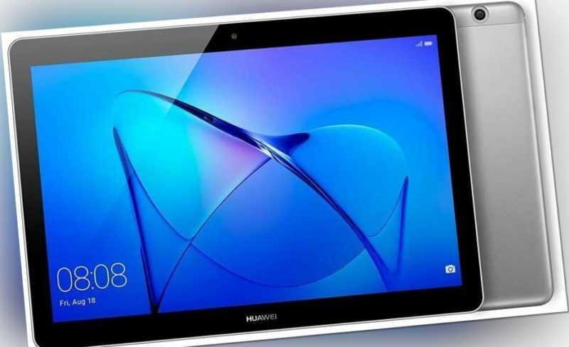 Huawei MediaPad T3 10 16GB 32GB Wifi Cellular Tablet grau - Zustand Akzeptabel