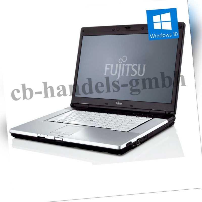 FUJITSU LIFEBOOK E780 i5 M520 2.40 GHZ 15,6 ZOLL 4GB DDR3 500GB HDD DVDRW WIN10