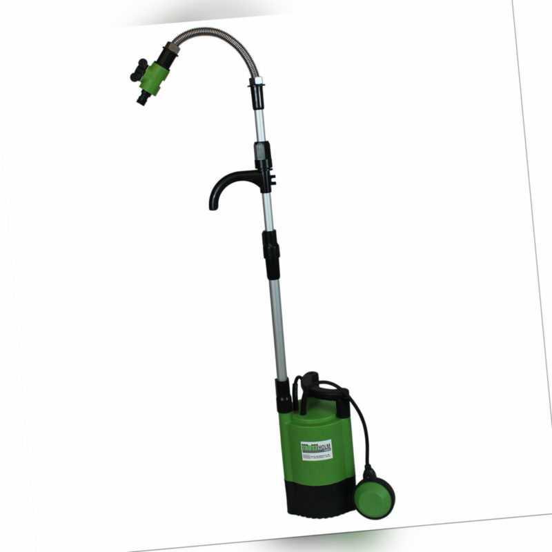 Regenfasspumpe Wasserpumpe Pumpe Regentonne Garten 5200 l/h Tauchpumpe 400W