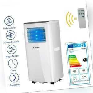 CORODO Klimagerät Mobile Klimaanlage 7000 BTU Fernbedienung Luftkühler Cooler