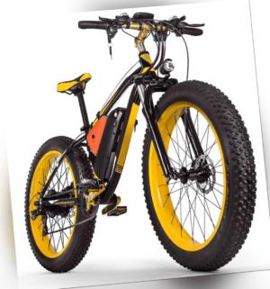 26 Zoll e Fatbike e-Bike 1000W Motor Elektrofahrrad ebike Mountainbike eFatbike