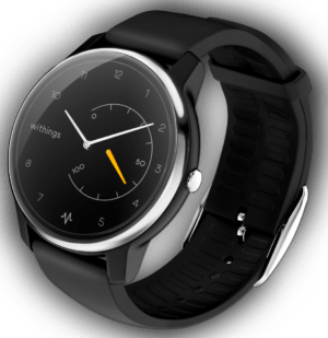 Withings Move ECG schwarz Android iOS Smartwatch Puls Bluetooth Fitnessuhr EKG