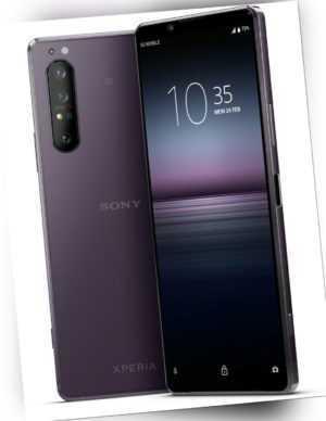 Sony Xperia 1 II 5G Single Sim 256GB Violett
