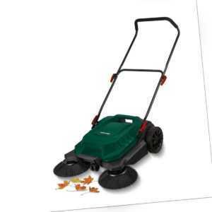PARKSIDE Kehrmaschine PKM 24 A1 mit 2 Tellerbürsten 65cm Kehrbreite Gartenfeger
