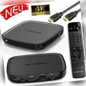 Formuler GTV 4K UHD HDR Android 9 MYTVonline2 Media Player H.265 HEVC Dual WLAN