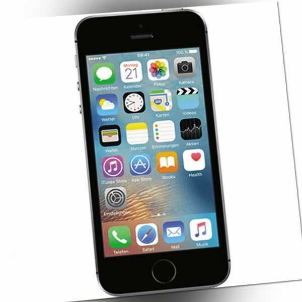 Apple iPhone SE 32GB Spacegrau 4 Zoll LTE iOS Smartphone ohne...