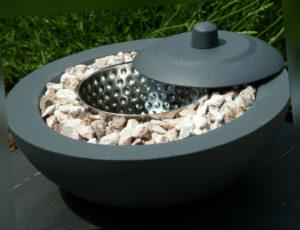 Feuerschale aus Beton (für Bio Ethanol) Beton Deko Terrasse Handmade
