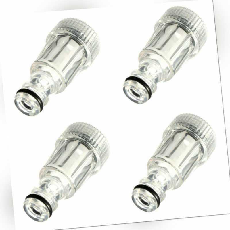4x Feinfilter Vorfilter Wasserfilter Schmutzfilter für Kärcher Hochdruckreiniger
