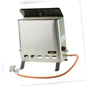 Gas Gewächshausheizung Gewächshausheizer Frostwächter Gasheizung 4,2 kW