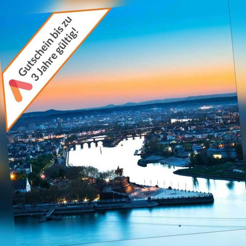 Kurzreise Koblenz Mitte 3 Tage 3 Sterne Design Hotel 2 Personen Hotelgutschein