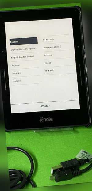 Amazon Kindle VOYAGE WLAN - Schwarz - NM460GZ 9013** 7. Generation *TOP*