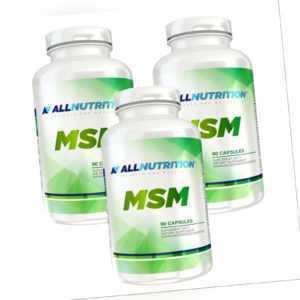MSM Methylsulfonylmethan 270 Kaspeln hochdosiert Beweglichkeit Gelenke Knochen