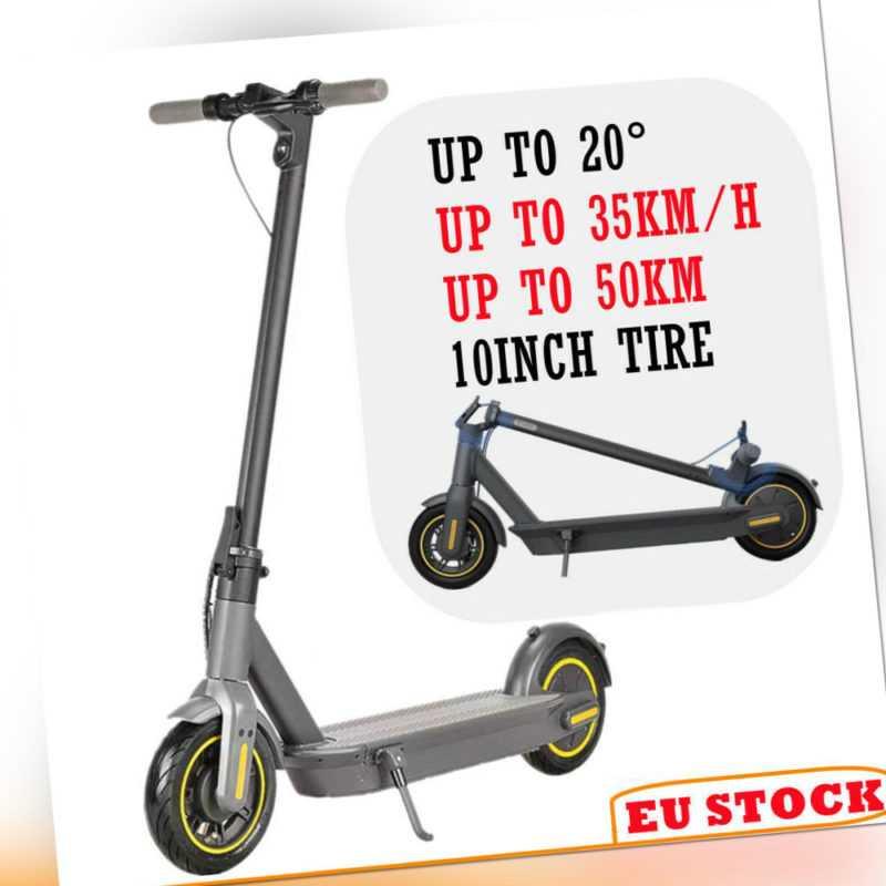 10'' E-Scooter Elektro Scooter 35km/h 720W 15.2Ah Elektroroller Faltbar W/App DE
