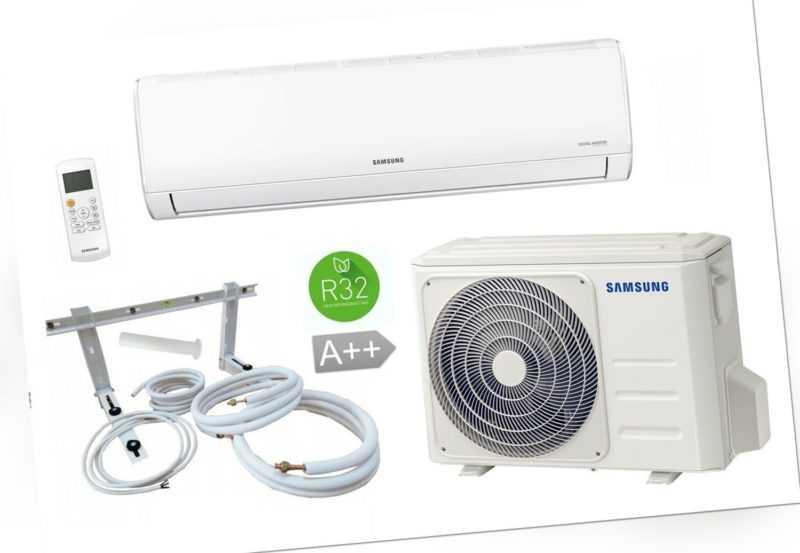 Split Klimaanlage Samsung AR35 AR09TXHQASIN/EU 2,6 kW + optionales Montageset