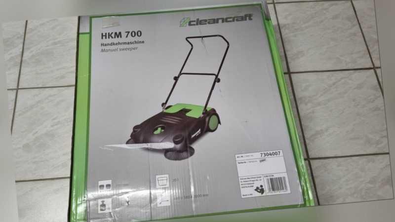 Cleancraft HKM 700Handkehrmaschine -SONDERPREIS-