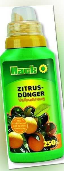 Hack Zitrusdünger 250 ml