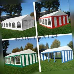 XXL Partyzelt 3x6 - 6x12m Pavillon Festzelt ca. 500g/m² PVC + Stahlgestell NEU