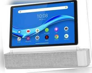 """Lenovo Smart Tab M10 FHD Plus 10"""" 32GB Platinum grau Android Tablet 2GB RAM WLAN"""