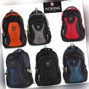 Rucksack AOKING Sport Reise City Schul Tasche Day Back Pack Outdoor Freizeit NEU